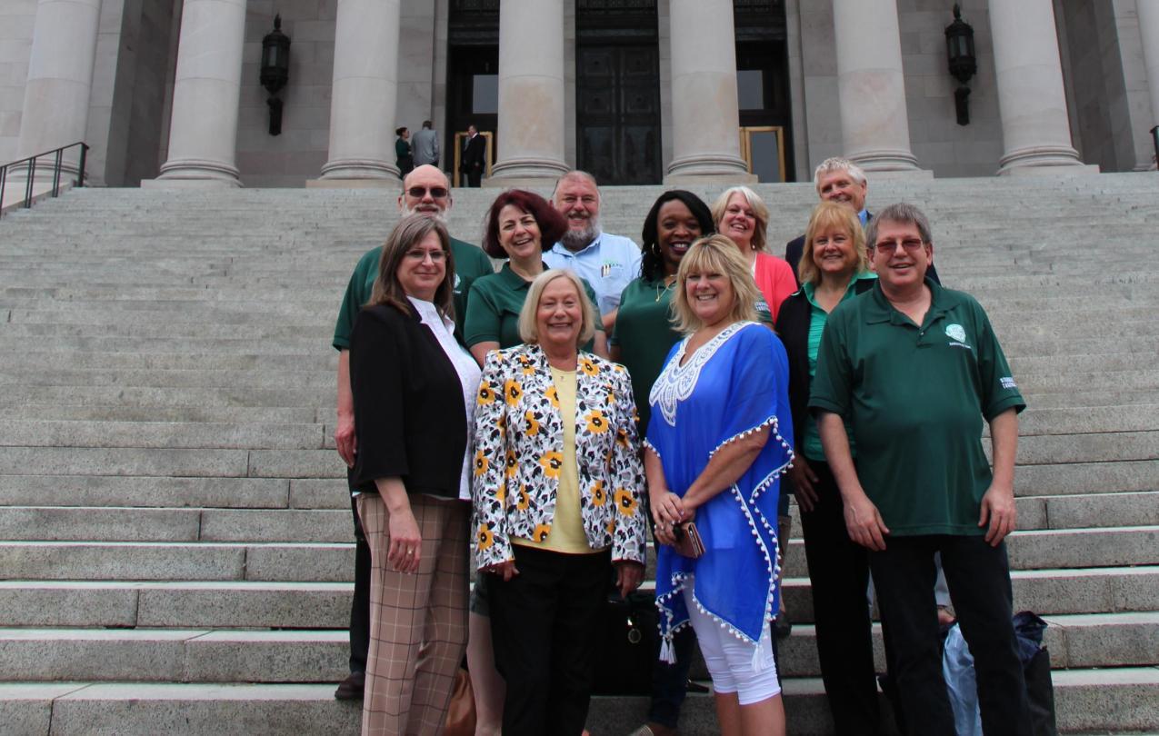 WFSE members at capitol