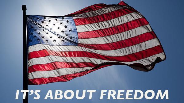 Flag Graphic: Freedom
